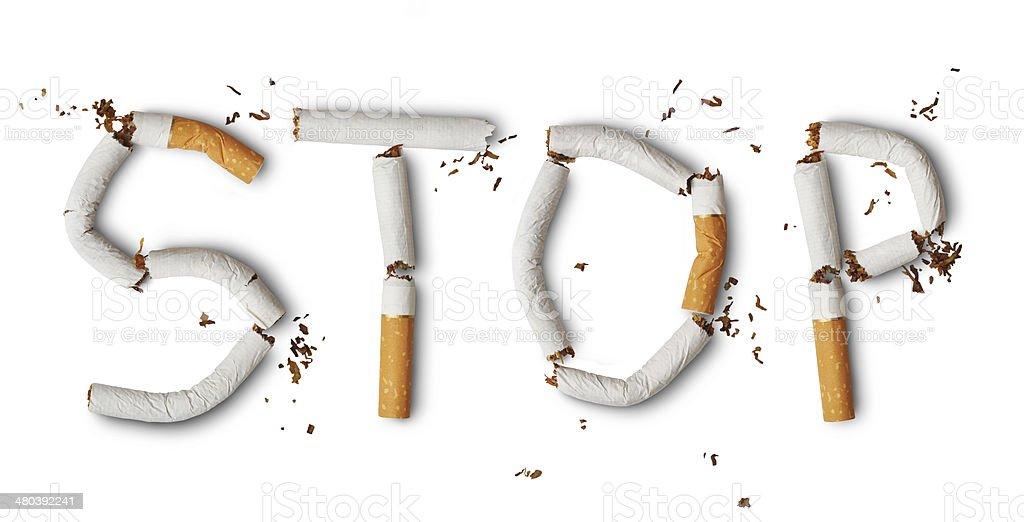 Para No fumadores - Foto de stock de Abandonado libre de derechos