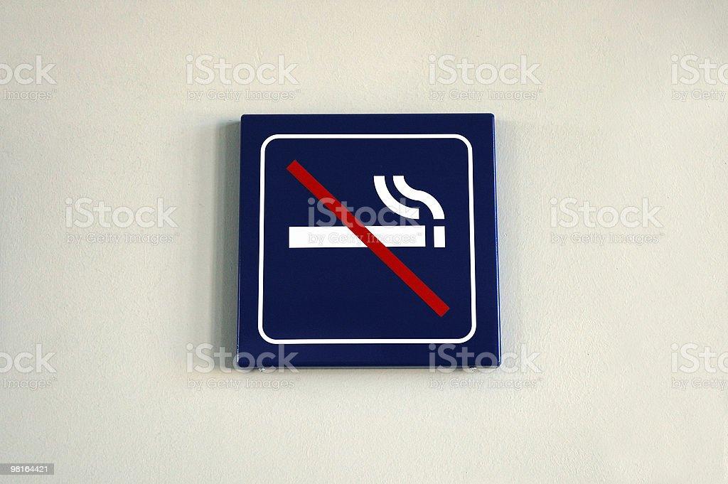 Non fumatori. foto stock royalty-free