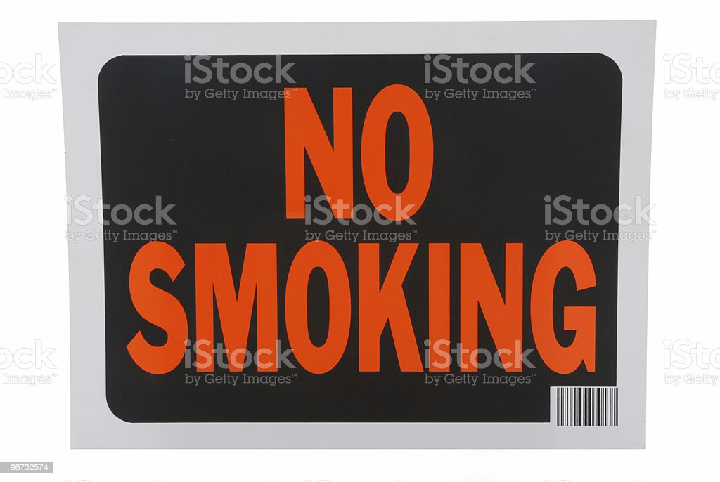 No smoking 免版稅 stock photo