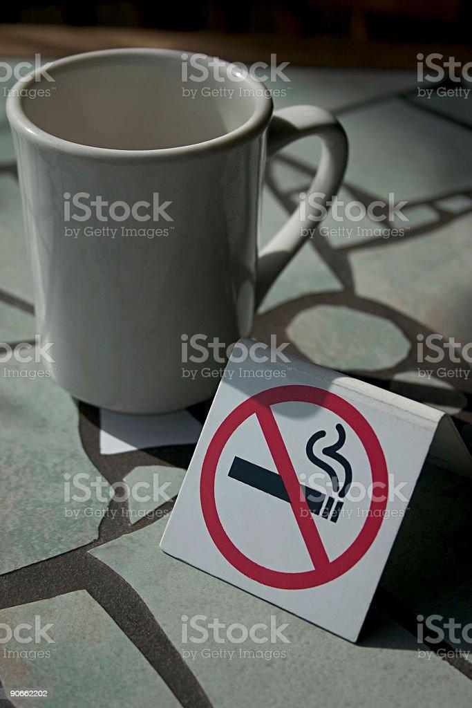 No Smoking please royalty-free stock photo