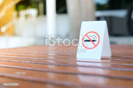 istock No smoking sign. 1062320000
