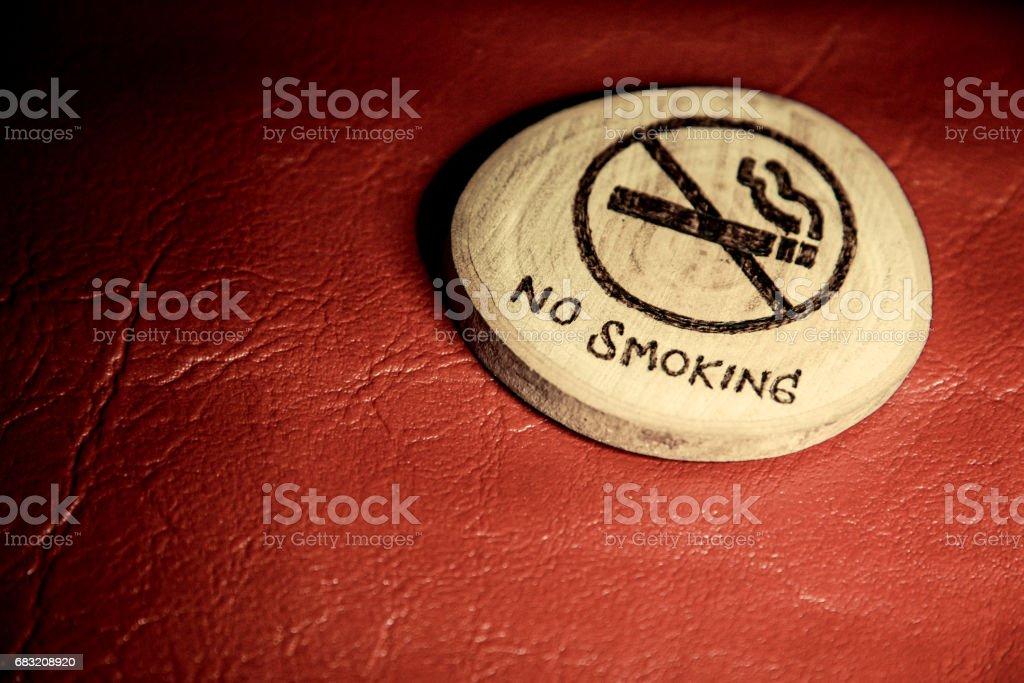 禁止吸煙的標誌,世界無煙草日 31 日 免版稅 stock photo