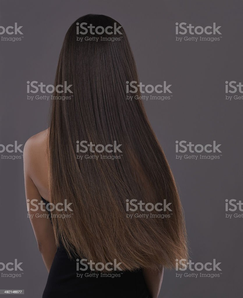 No split ends here! stock photo