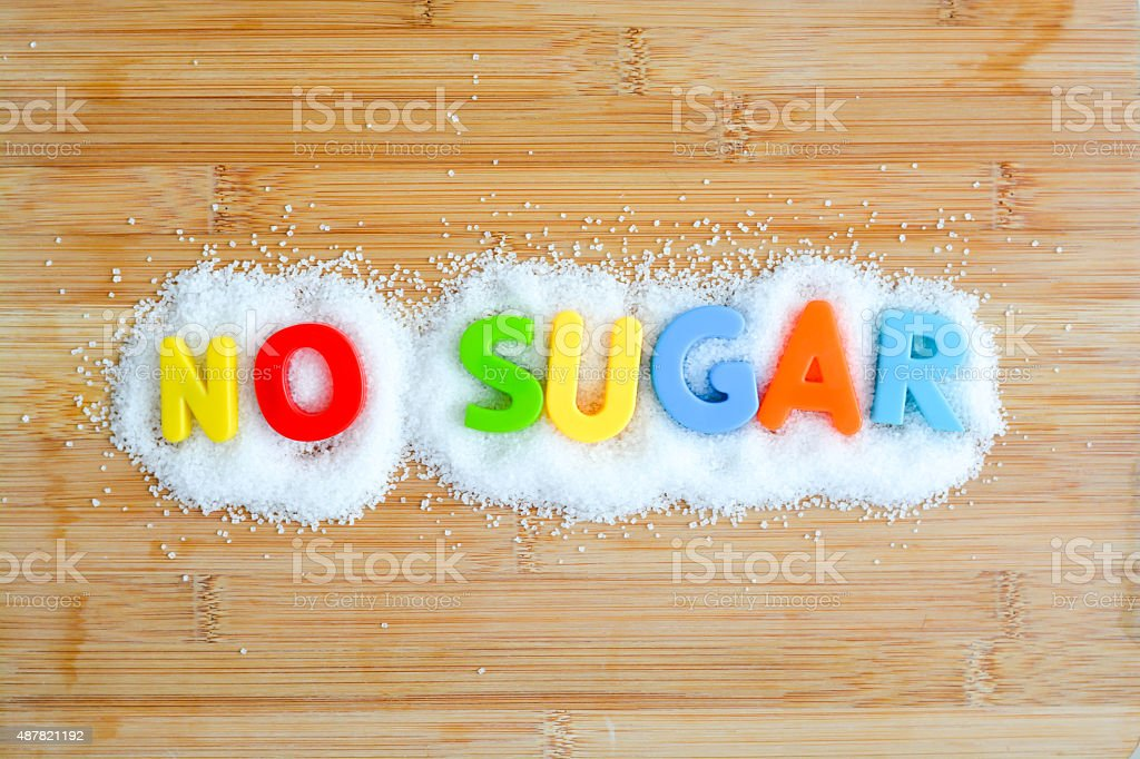 No sugar diet for a healthy lifestyle No sugar diet for a healthy lifestyle 2015 Stock Photo
