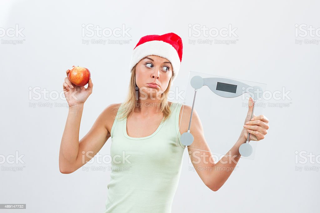 No sweets for me for holidays stock photo
