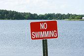 istock No Swimming Sign 643711346