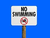 istock No Swimming Sign 916863218