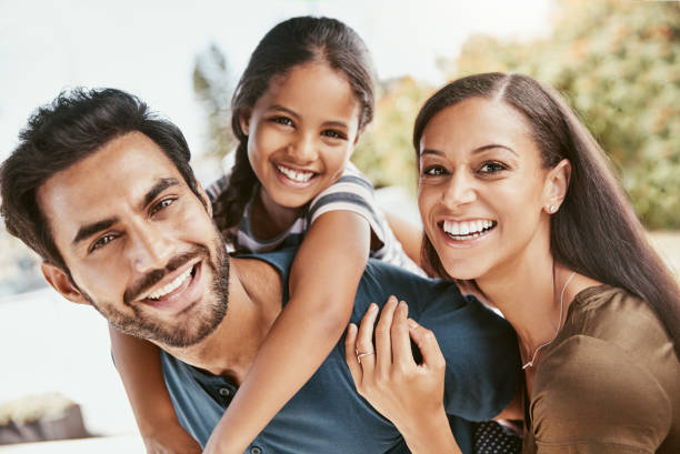 No time is more special than family time stock photo