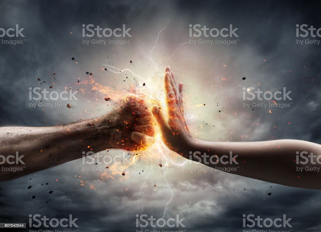 No To Violence Against Women royalty-free stock photo
