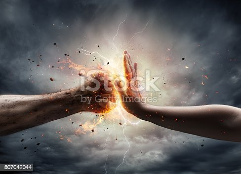 istock No To Violence Against Women 807042044