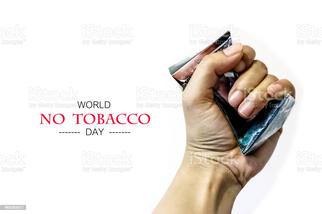 No Tobacco day royalty-free stock photo