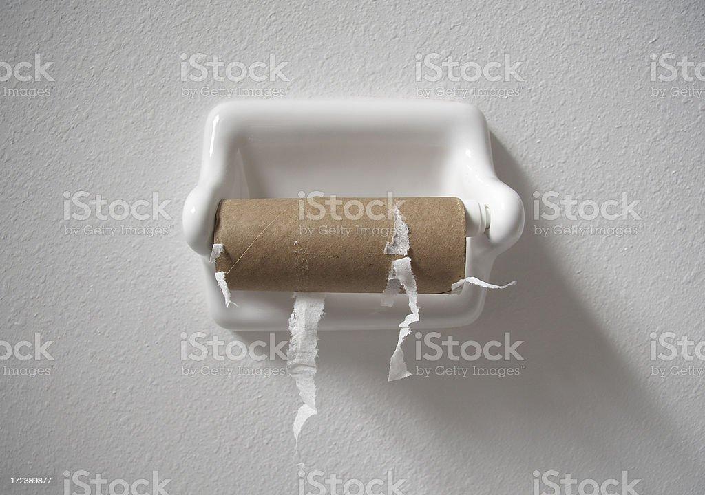 Kein Toilettenpapier – Foto