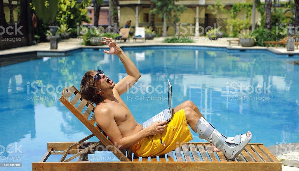 No travel insurance royalty-free stock photo