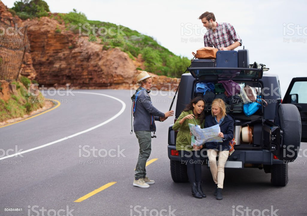 No traveling light for us stock photo