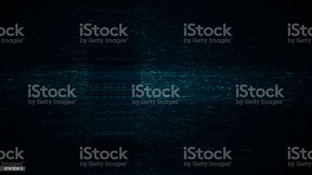 No TV signal stock photo