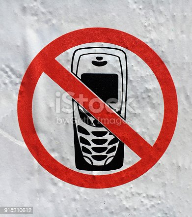 no using cell phone sign stock photo more pictures of backgrounds