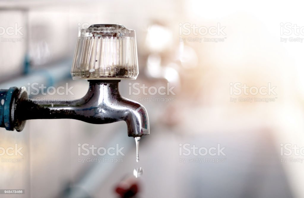 No Water Dry Faucet Water Crisis Disaster Stock Photo & More ...
