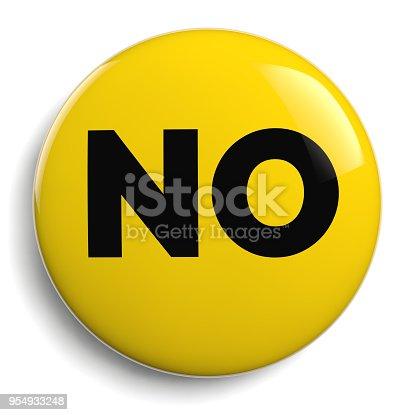 istock No Word Round Sign Icon 954933248