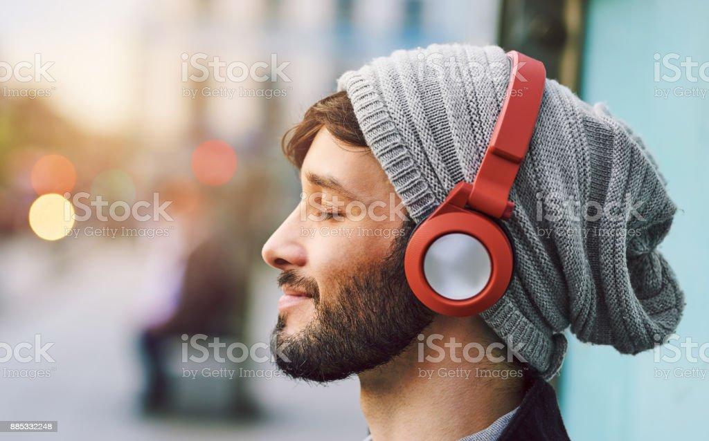No hay palabras necesarias, solo musica - foto de stock