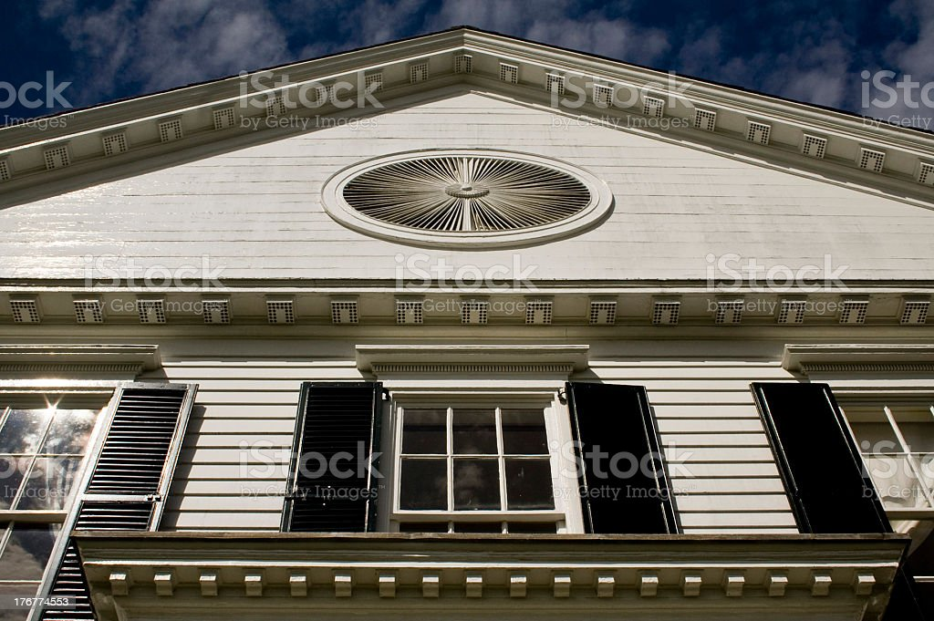 Noah Webster's House royalty-free stock photo