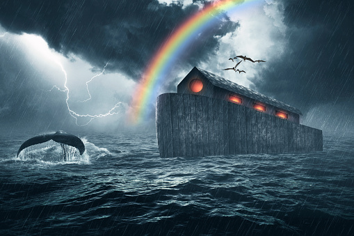 Noahs Ark Bible Story Stock Photo - Download Image Now ...