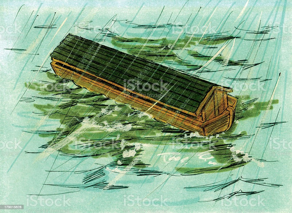 Noah's Ark stock photo