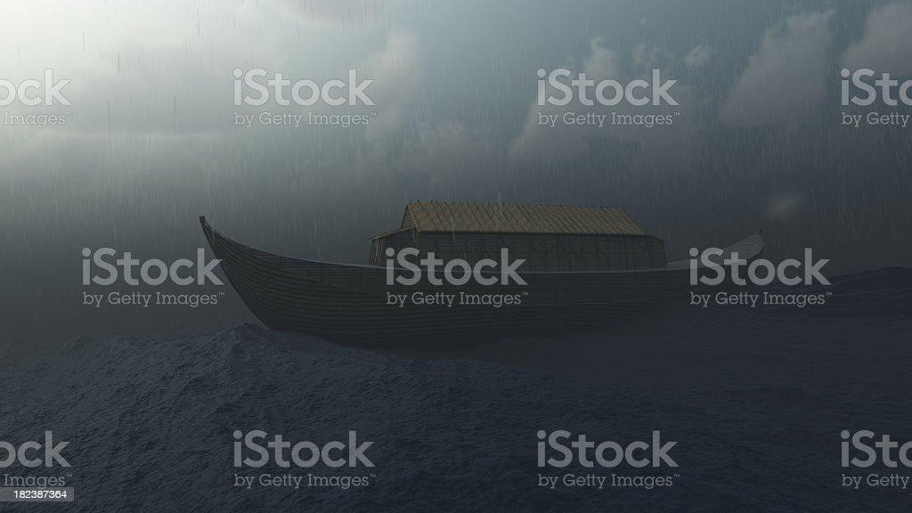 Noah's Ark royalty-free stock photo