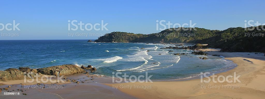 Nobby Beach, Port Macquarie stock photo