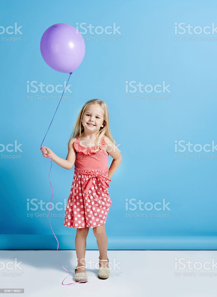Nobody can be uncheered with a balloon stock photo