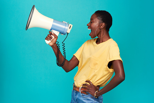 istock Nobody else has your voice. Use it 1170292833