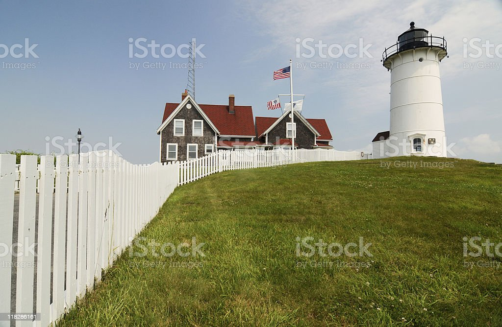 Nobsca Lighthouse stock photo