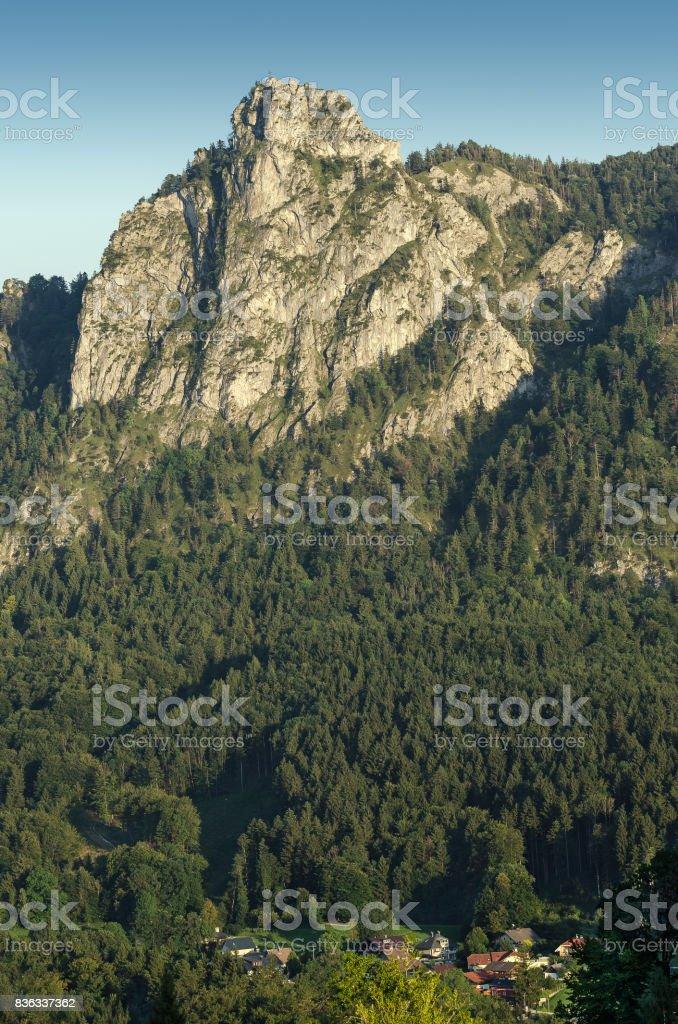 Nockstein in Salzburg, Austria, Europe. Vertical stock photo
