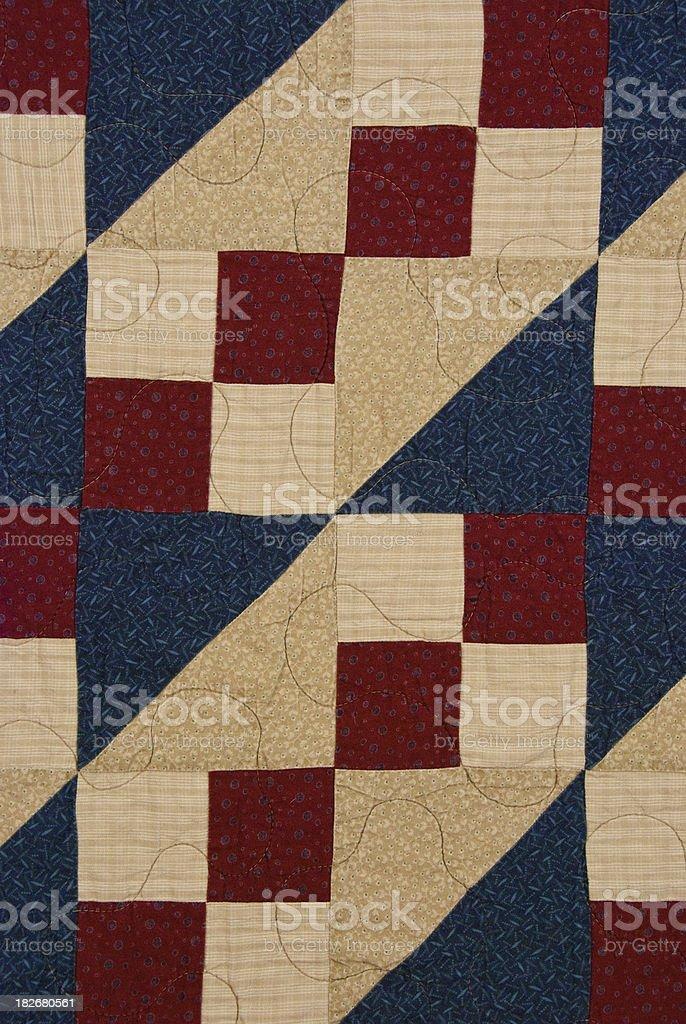 Noel Quilt Pattern stock photo