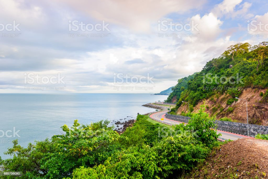 Noen Nangphaya View Point , Chanthaburi province, Thailand royalty free stockfoto
