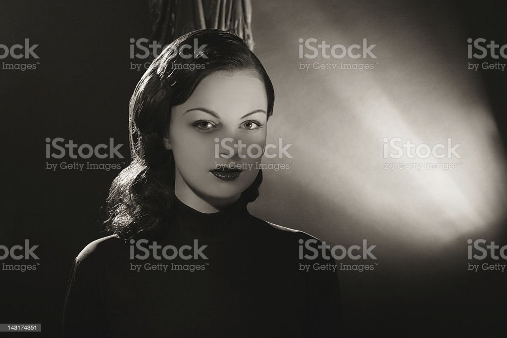 Noir. royalty-free stock photo
