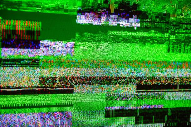 TV noise bad signal dbvt signal Digital Video Broadcasting - Photo