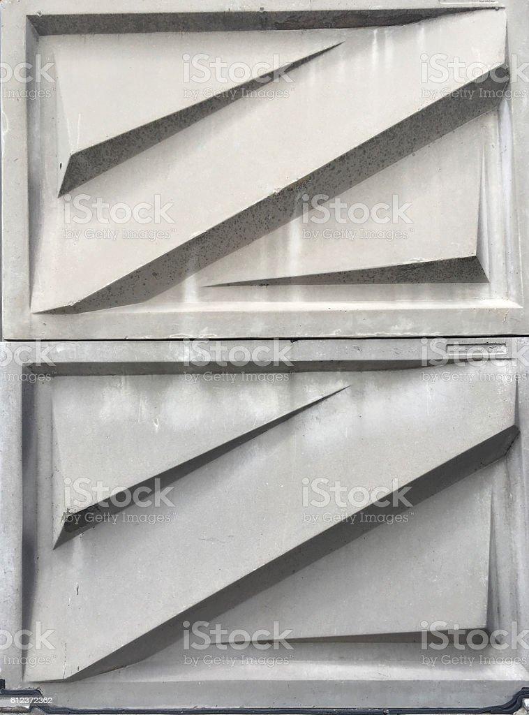 Noise barrier stock photo
