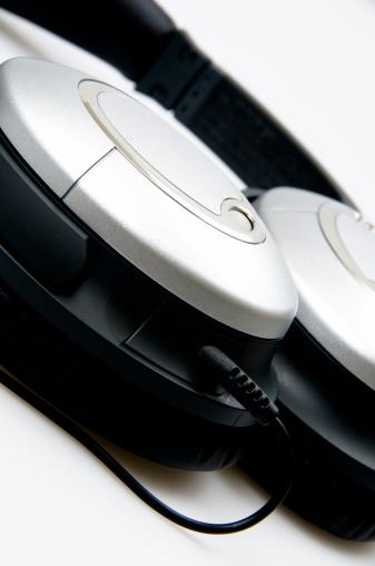 Modern Noise Canceling Headphone on white
