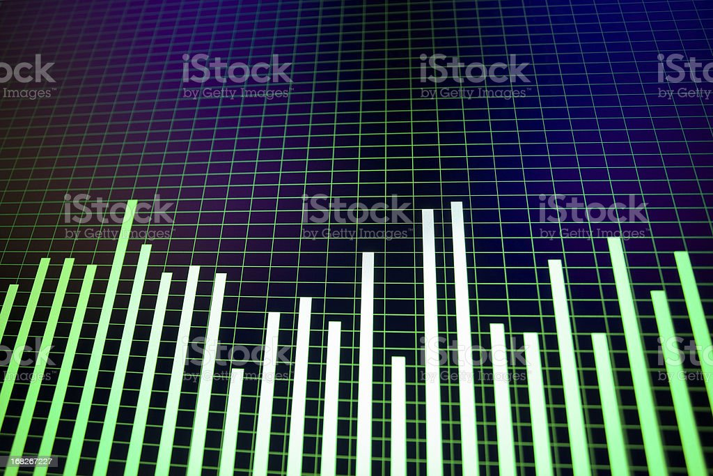 Noise gistogram stock photo