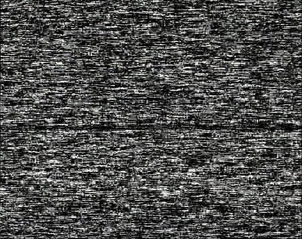 ruído de fundo sobre um ecrã preto - televisão estática imagens e fotografias de stock