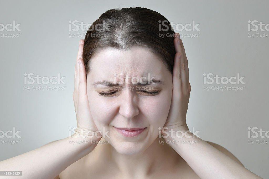 Noise pollution stock photo