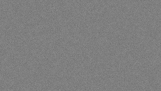 Noise tv screen pixels interfering signal. 3d rendering