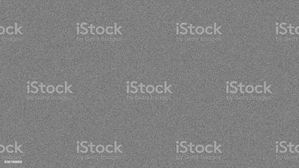 Noise tv screen pixels interfering signal stock photo