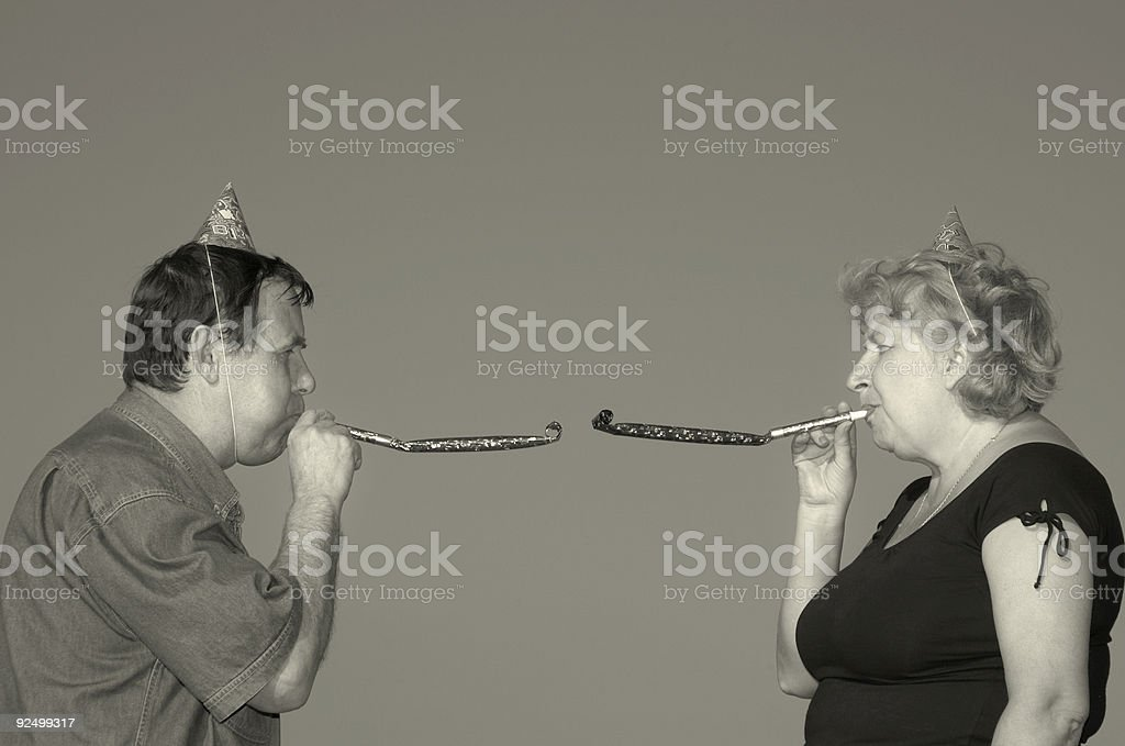 noisemakers royalty-free stock photo