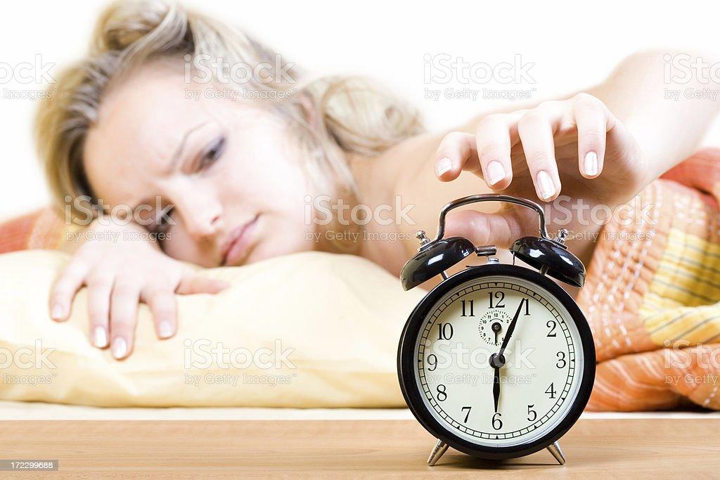 Noisy alarm royalty-free stock photo