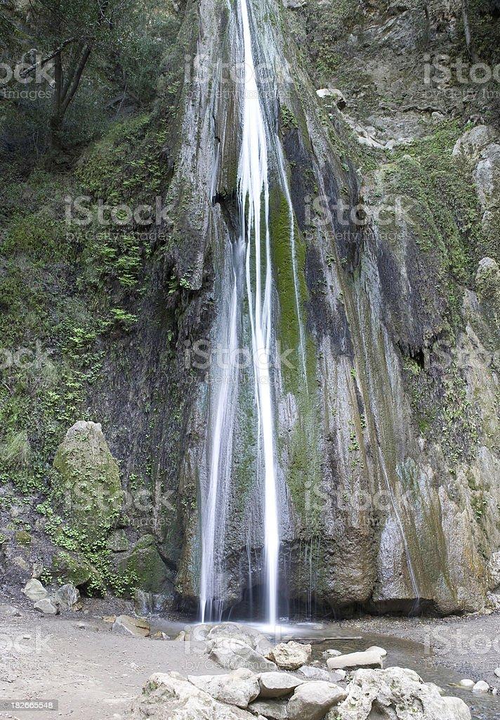 Nojoqui Falls Centered stock photo
