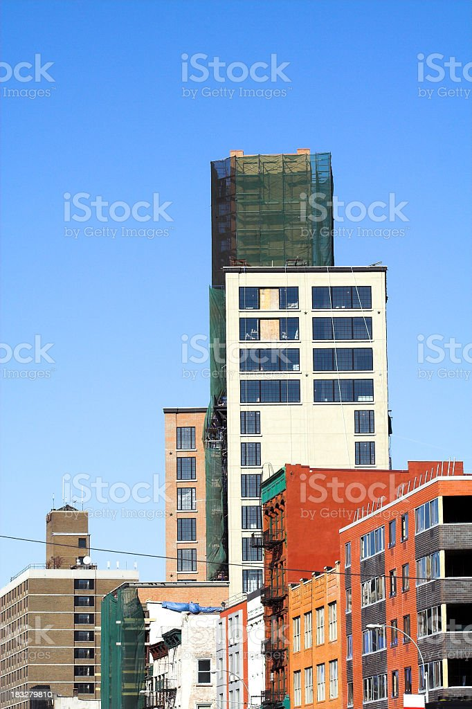 NoLIta Bowery Skyline royalty-free stock photo