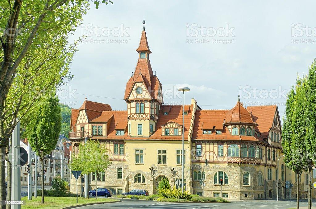 Nollendorfer Hof in Jena - Germany stock photo