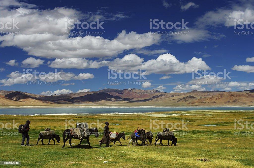 Nomad life stock photo