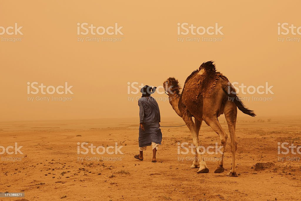 Nomadic People Morocco stock photo